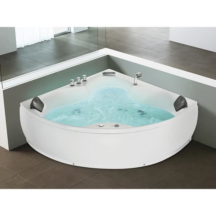 baignoire d 39 angle baignoire baln o whirlpool hydromassage chromoth rapie senado. Black Bedroom Furniture Sets. Home Design Ideas