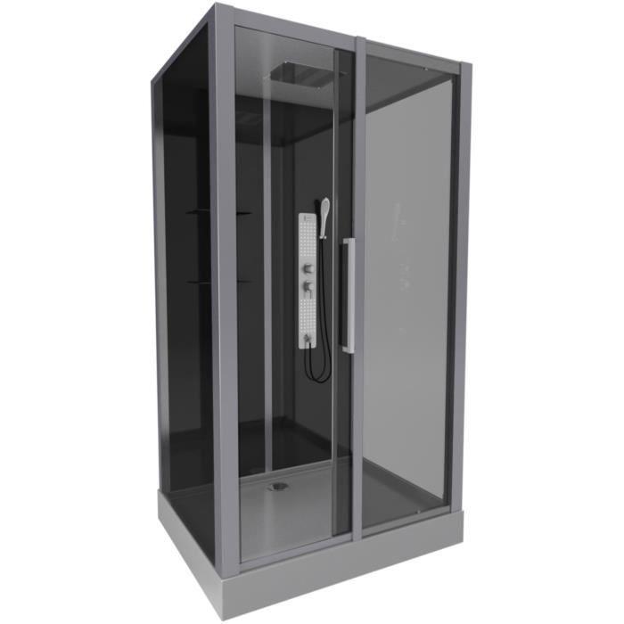 CABINE DE DOUCHE AURLANE cabine de douche phantom 90x115x215cm