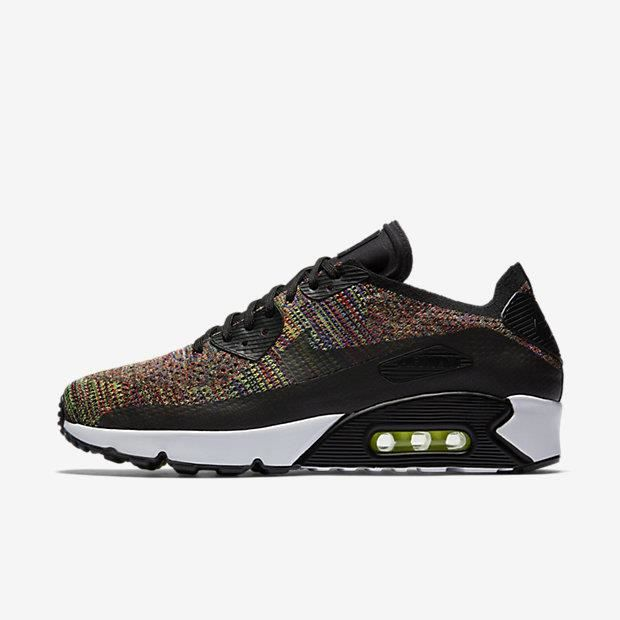 the best attitude fa844 b38ec Basket Chaussure pour Homme Nike Air Max 90 Ultra 2.0 Flyknit 875943-002