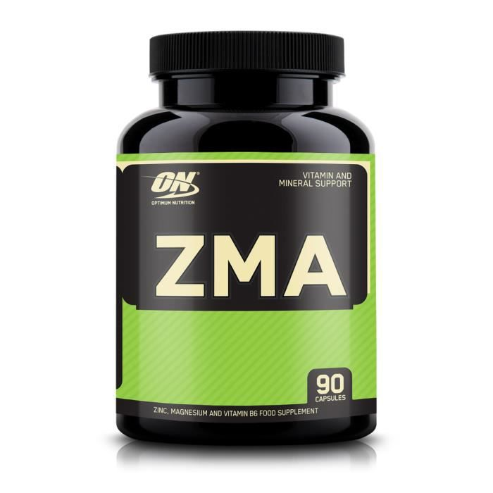 STIMULANT HORMONAUX Optimum Nutrition - ZMA 90 caps - augmenter les ta