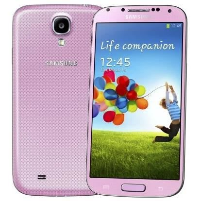 samsung galaxy s4 16go rose achat smartphone pas cher. Black Bedroom Furniture Sets. Home Design Ideas