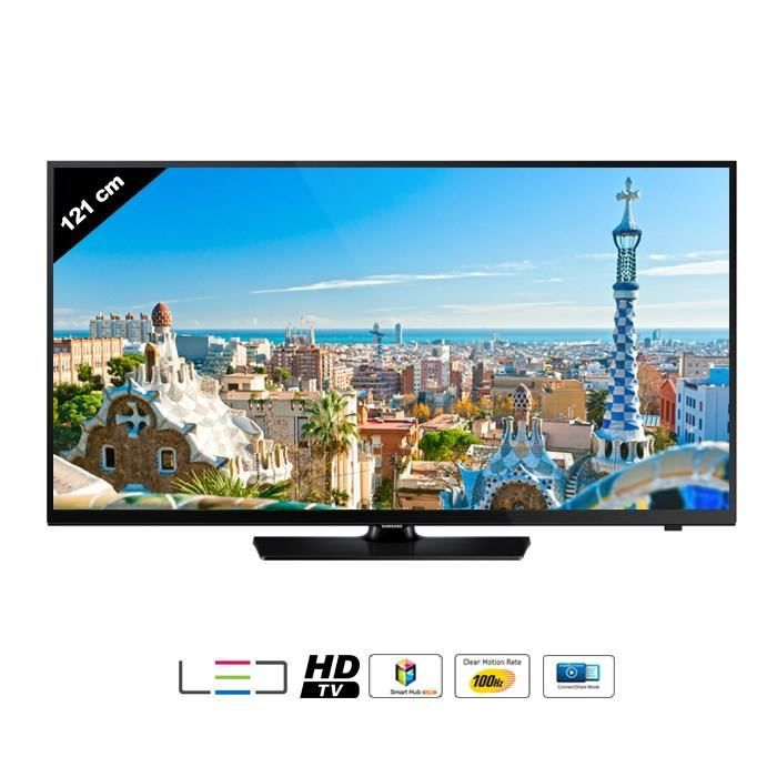 samsung ue48h4203 smart tv lite 121 cm hdtv 100 hz. Black Bedroom Furniture Sets. Home Design Ideas