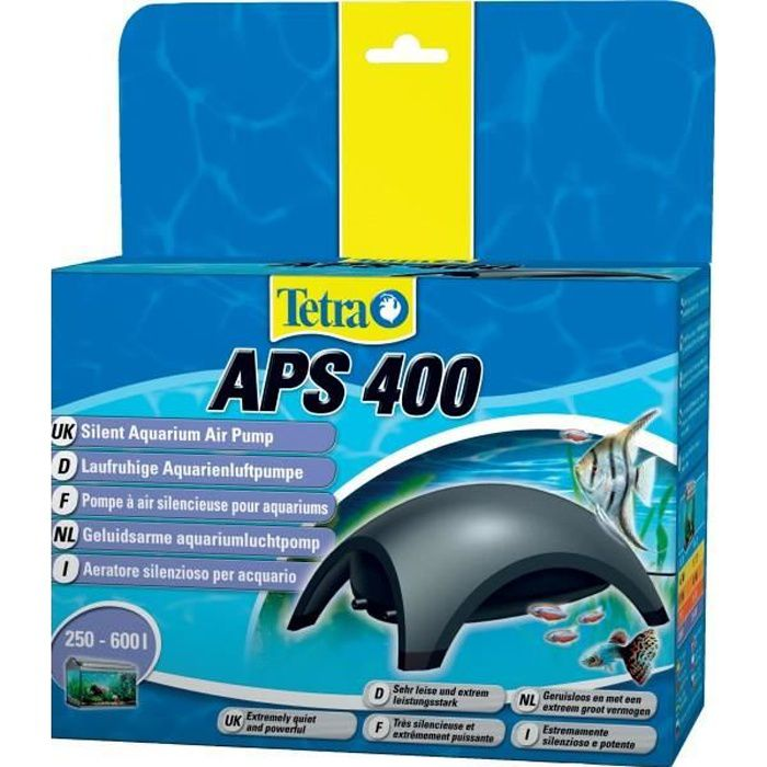 Tetra pompe air pour aquarium tetra aps 400 achat for Pompe pour aquarium