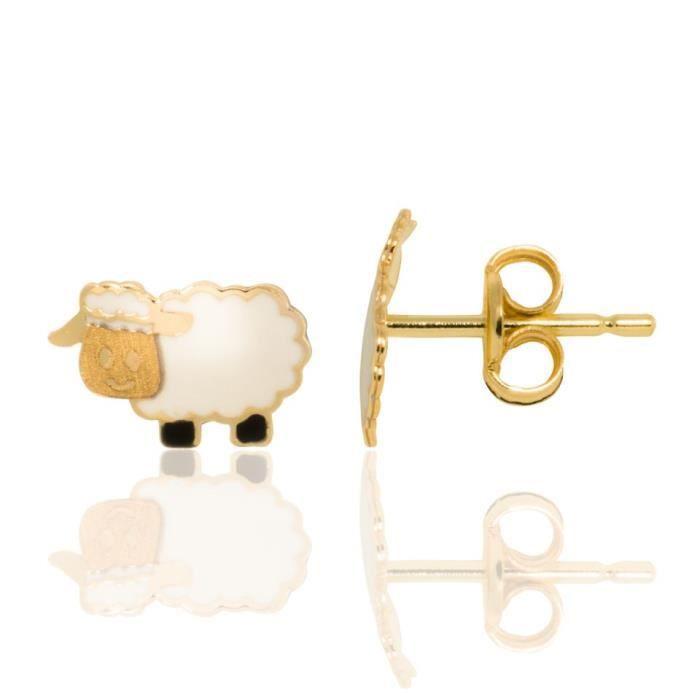 boucle d'oreille mouton