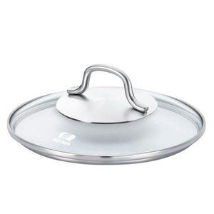 COUVERCLE VENDU SEUL BEKA Couvercle en verre Cristal  -  Ø 20 cm - Tran