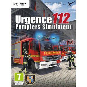 JEU PC Urgence 112 Pompiers Simulateur Jeu PC