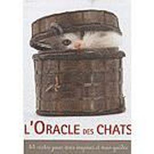 LIVRE PARANORMAL L'oracle des chats