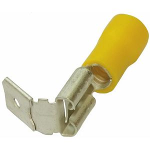 100x Cosses électriques mâle plate 4.8mm  0.5mm 0.5-1mm2