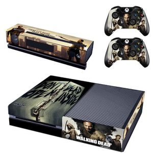 STICKER - SKIN CONSOLE The Walking Dead Dont Open Dead Inside Skin Decals