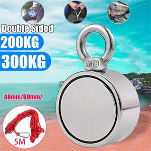 PINCE DE LEVAGE Kit de pêche de détecteur d'aimant en métal de dou
