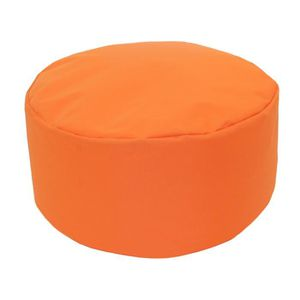 pouf tout rond int rieur ext rieur orange. Black Bedroom Furniture Sets. Home Design Ideas