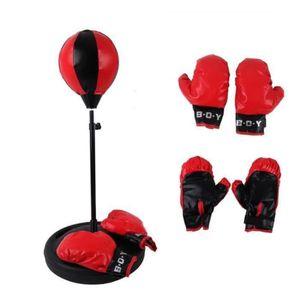 ACCESSOIRE RING - CAGE Hauteur réglable sac de boxe de sport avec des gan