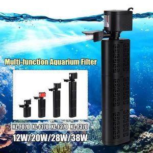 FILTRATION - POMPE Multifonction Filtre Aquarium Intérieur Pompe A Ea