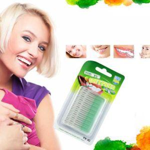 BROSSE A DENTS 40 pcs Brosse interdentaire brosse à dents pour hy