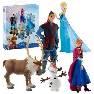 POUPÉE La Reine des Neiges - Disney Frozen - les chiffres