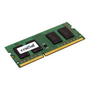 MÉMOIRE RAM Crucial DDR3L 8 Go SO DIMM 204 broches 1600 MHz -