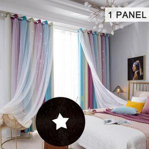 RIDEAU Star Curtains Stars Rideaux occultants pour enfant