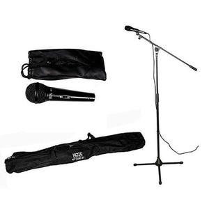 PIED - STAND Kit pied + Micro + sac KMS-07 NOIR