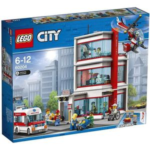 ASSEMBLAGE CONSTRUCTION LEGO® City 60204 L'Hôpital LEGO® City