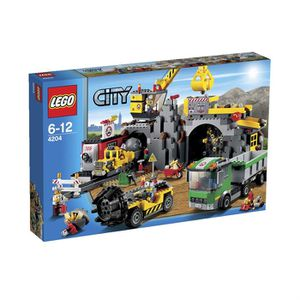 ASSEMBLAGE CONSTRUCTION Lego City La Mine
