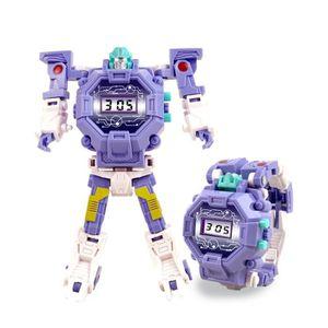 MONTRE  Montre enfant Transformers Robot jouet Cadeau jou