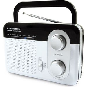RADIO CD CASSETTE MET 477220 Radio FM grandes ondes