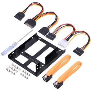 DISQUE DUR SSD 2,5 à 3,5 pouces de support de kit de montage de d