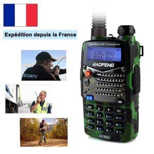 TALKIE-WALKIE Neuf Baofeng UV-5RA camouflage vert Talkie-walkie