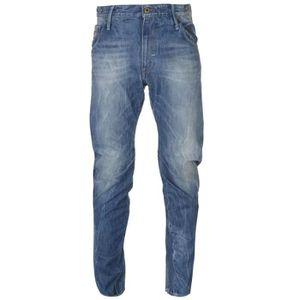 G-Star Jeans 3301 Fuselé Hadron Denim DK Aged Taille De 29//32 30//34 31//34