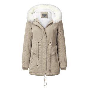 Manteau femme fourrure synthetique