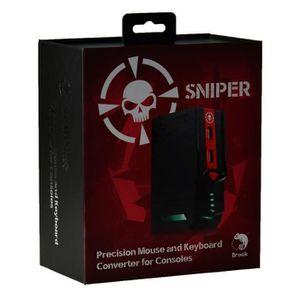 ADAPTATEUR MANETTE Brook Sniper Adaptateur de Clavier & Souris PC pou