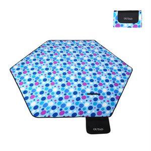 TAPIS PIQUE NIQUE tapis de pique-nique en forme de hexagone Portable