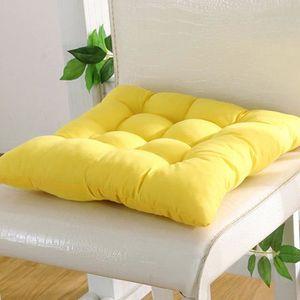 COUSSIN DE CHAISE  Galette de chaise, 9 couleurs lavable Coussin d'as