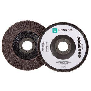 DISQUE DE DÉCOUPE VONROC Lot de 2 disques à lamelles universelles -