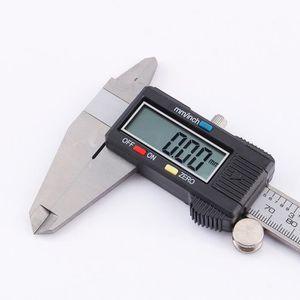 B Blesiya 150 Mm LCD Num/érique Pied /à Coulisse /Électronique Vernier Caliper Microm/ètre Blanc