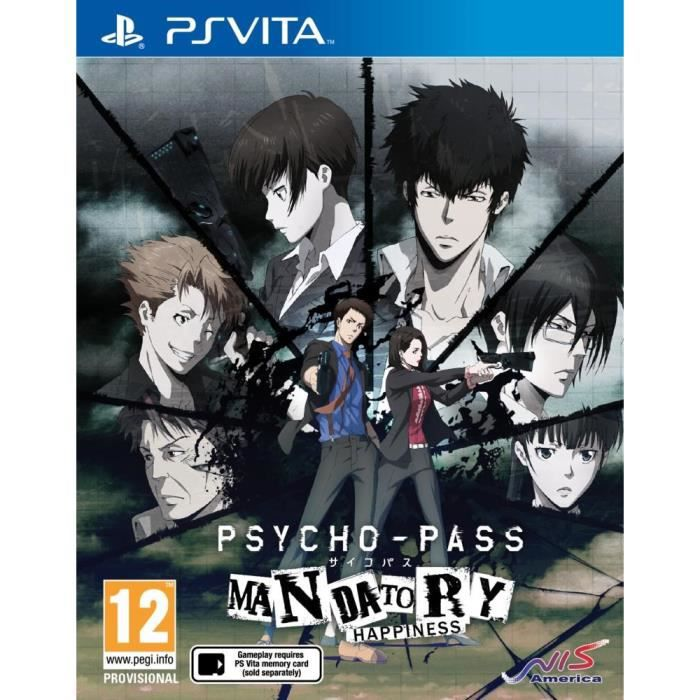 psycho pass mandatory hapiness jeu ps vita achat vente jeu ps vita nouveaut psycho pass. Black Bedroom Furniture Sets. Home Design Ideas