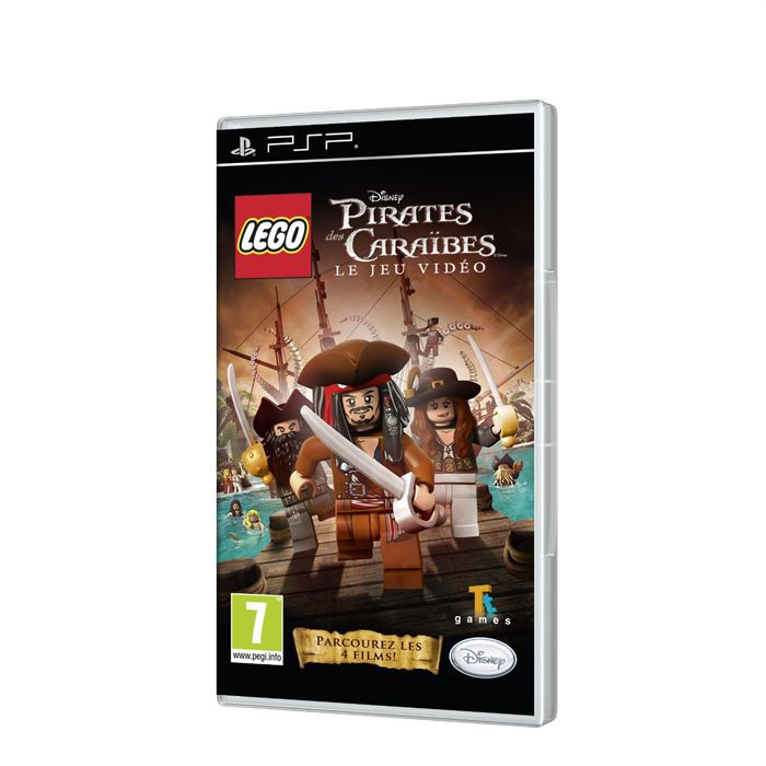 lego pirates des caraibes jeu console psp achat vente jeu psp lego pirates des caraibes. Black Bedroom Furniture Sets. Home Design Ideas
