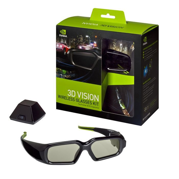 Pack peripherique nvidia geforce lunette 3d vision
