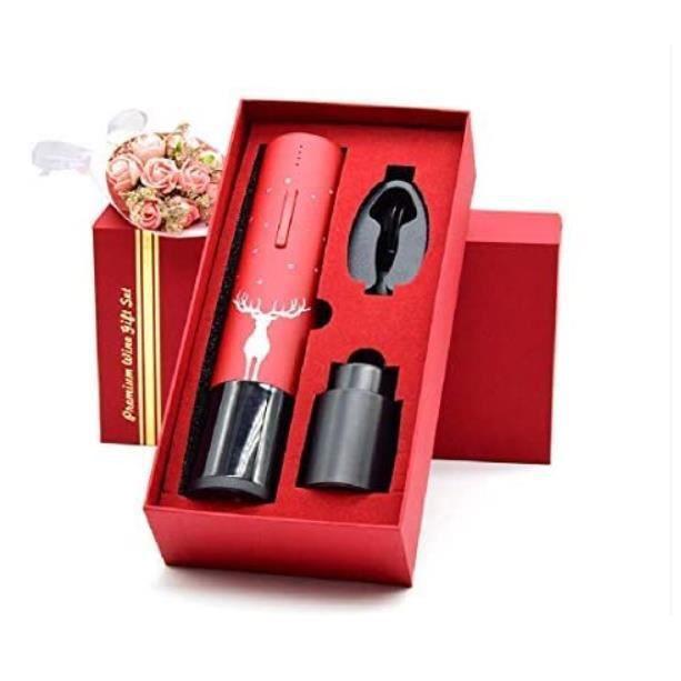 Ensemble d'ouvre-vin électrique domestique Portable sans fil automatique coupe-papier en aluminium coupe-papier ouvre-vin ouvre-vin