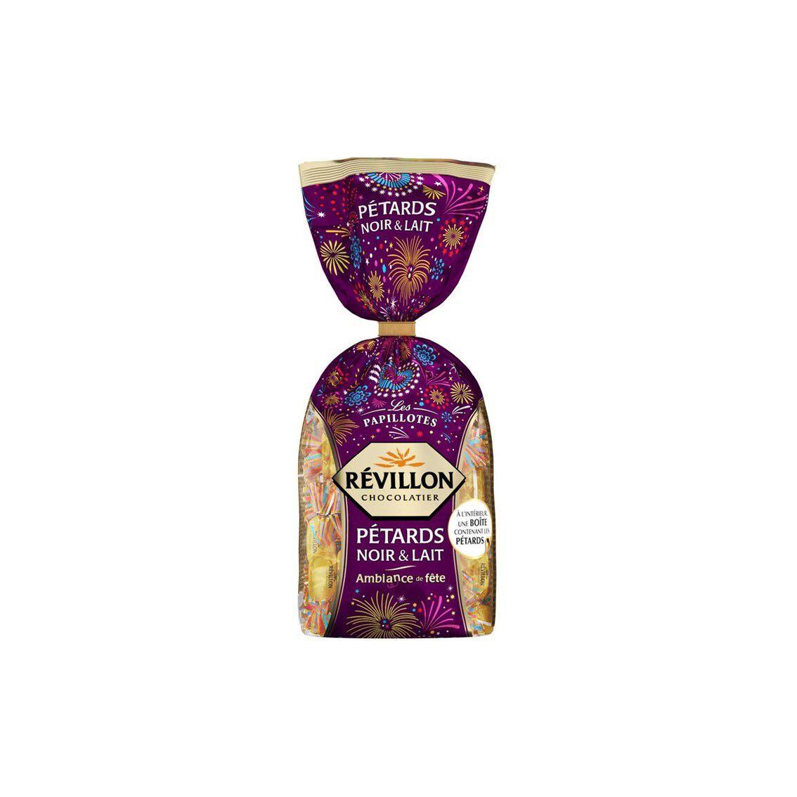 REVILLON Papillotes Petard chocolat noir et lait 300gr