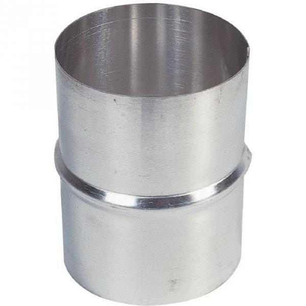 Jonction aluminium - Ø 120 mm - Pour VMC - Tolerie Emaillerie Nantaise