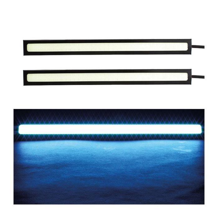 Paire de Feux bande LED antibrouillard bleu