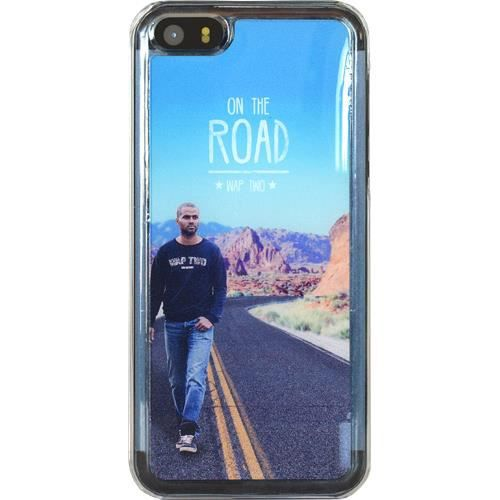 WT Coque de protection Tony Parker pour iPhone 5 / 5C / 5S - Rigide - Décor Road