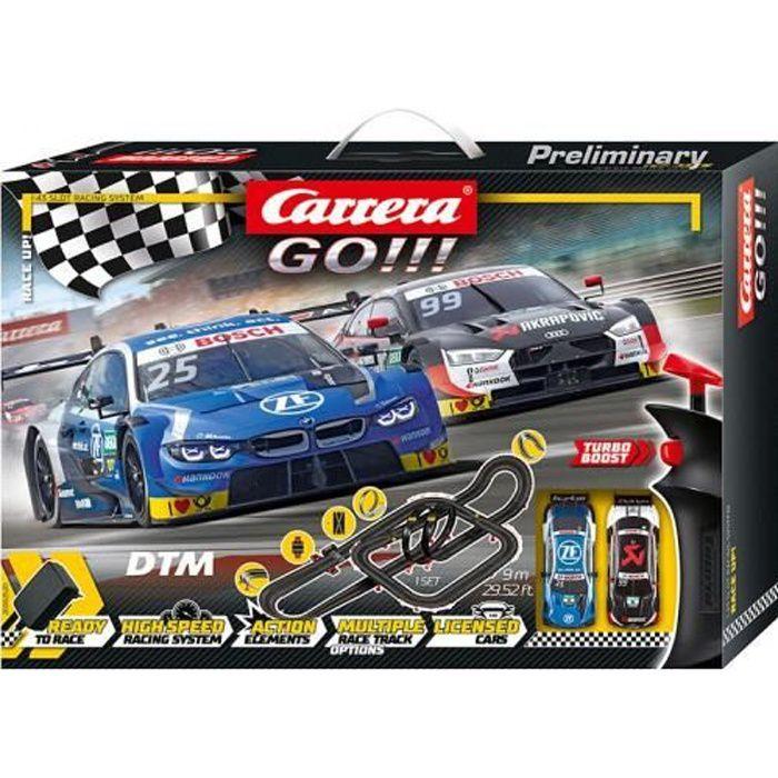 Circuit voitures Race Up! DTM - Dès 6 ans - Carrera GO!!! 62520