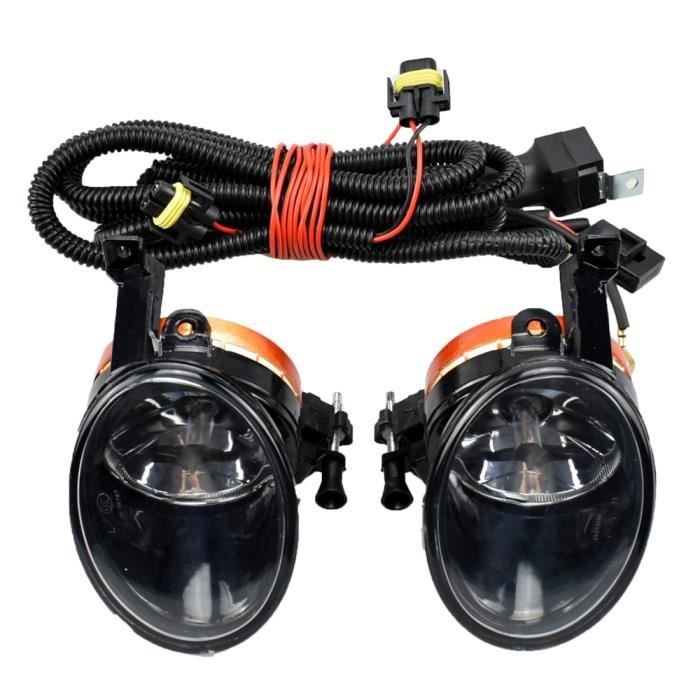 Halogen-wire -Feu antibrouillard avant halogène pour voiture, phare pour Golf 6 Jetta 6 Caddy Touran Tiguan