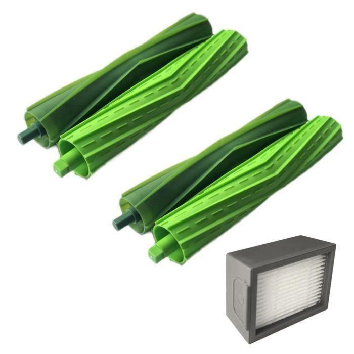 Brosses Kits pour hérisser iRobot Roomba + Core i7 Core i7 - Core i7 plus E5 E6 E7 Aspirateur IRobot 100