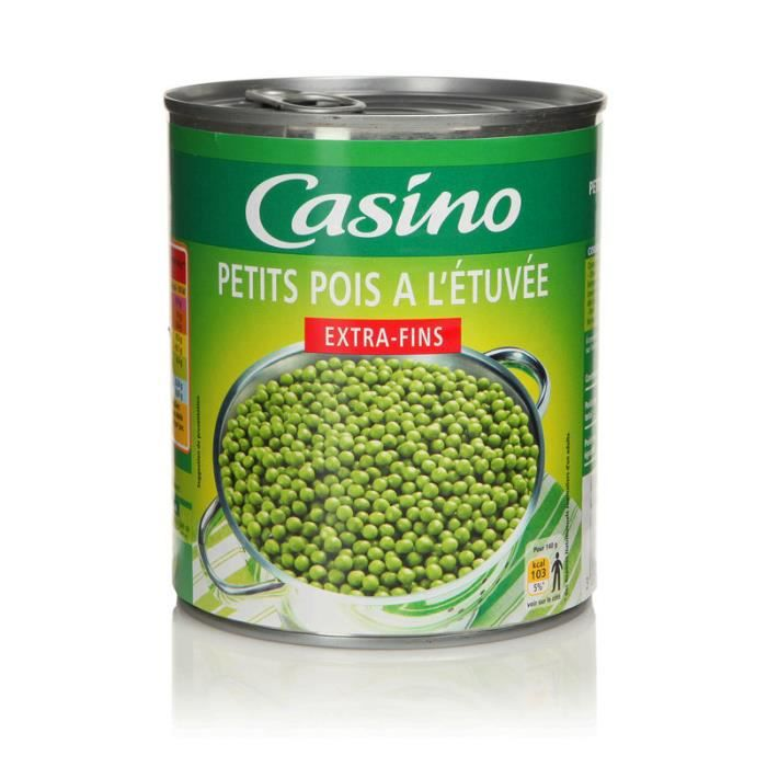 CASINO - Petits Pois Extra-Fins 560G
