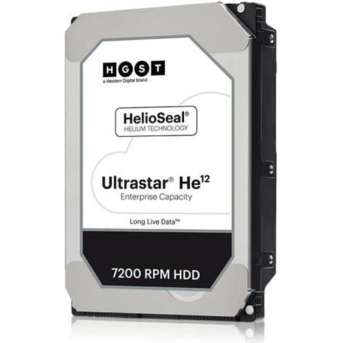 Western Digital Disque dur Hgst Ultrastar Dc Hc520 Huh721212ale604 3.5