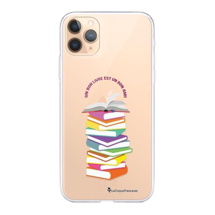 Coque iPhone 11 Pro 360 intégrale transparente Livres Ecriture Tendance Design La Coque Francaise