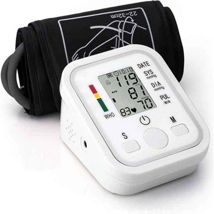 Leytn® Tensiometre bras électronique automatique Moniteur de Pression Artérielle avec écran LCD pour personnes âgées